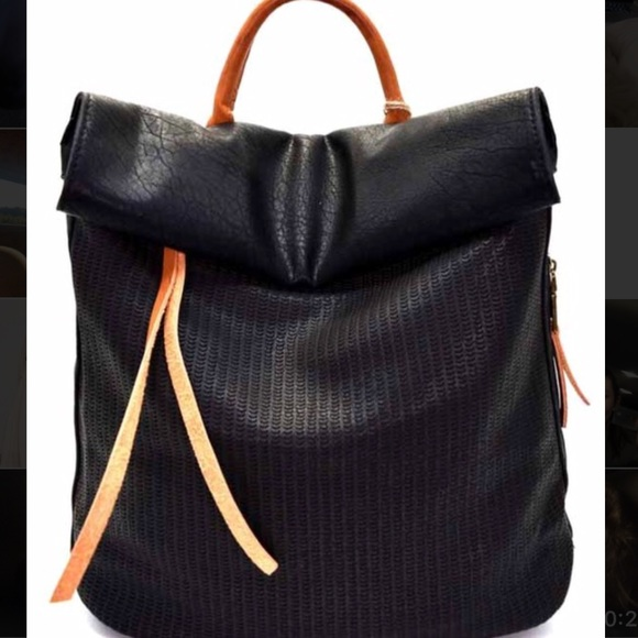 Vici Collection Faux Leather Backpack